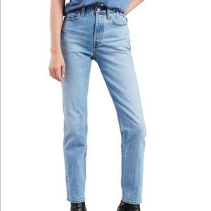 Levi's Wedgie Icon Fit Ankle Jeans